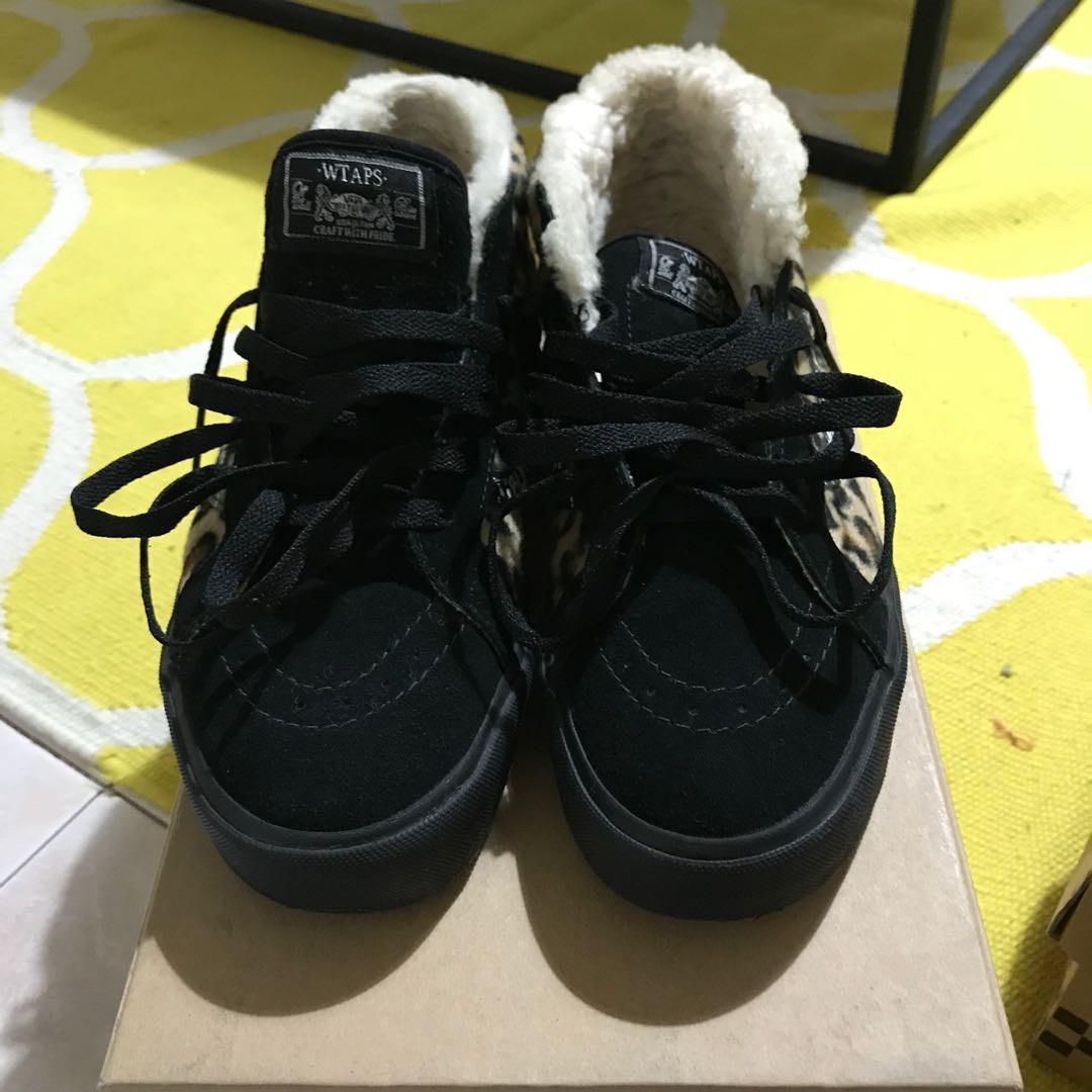 5e6c4e2986 Vans Syndicate x Wtaps Sk8-Mid Sherpa US8.5