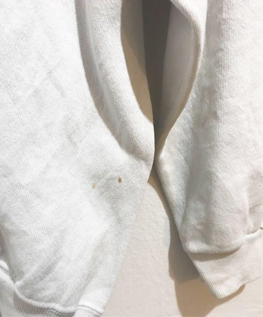 Vintage Bootleg Burberry sweatshirt in White