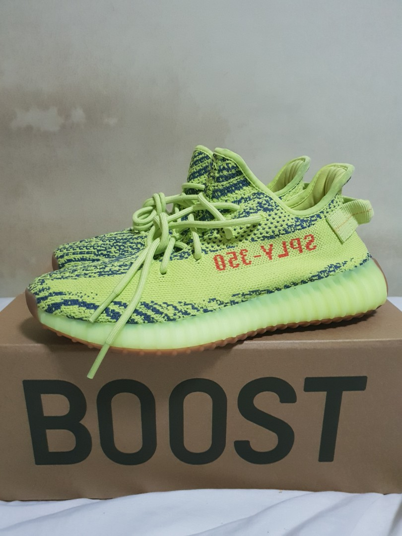 34cb5f7af7382 Yeezy Boost 350 V2 Semi Frozen Yellow