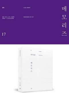 [PREORDER] BTS MEMORIES OF 2017 DVD