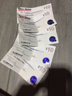 🚚 $50 Harvey Norman Gift Vouchers