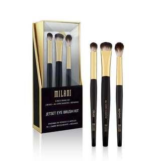 Milani Jetset Eye Brush Kit