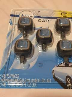 Febreze 車用香味清新劑 (一套5個)