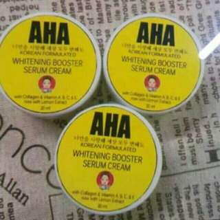 AHA Whitening Booster Cream