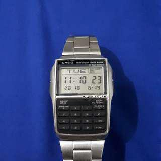 Jam Casio Calculator Original