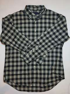 Ralph Lauren plaid l/s