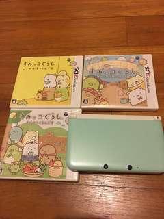 Nintendo 3DS Japanese with Sumikko gurashi games