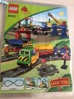 Reserved* Preloved LEGO train set 5609