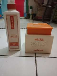 Makarizo shampo & Hairmask