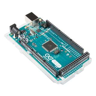 Brand New Arduino Mega 2560 R3 (Italy) w/ Holder + 1.8m USB cable from Sparkfun Sgbotic
