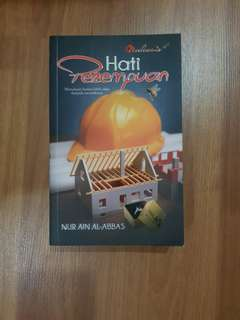 Malay novel Hati Perempuan