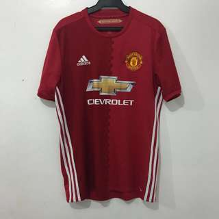 Adidas Manchester United Home Kit Jersey 16/17 (chevrolet)