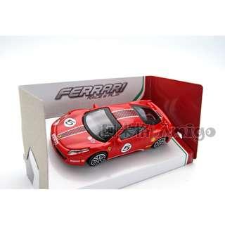 🚚 Bburago 1:43 法拉利 Ferrari 458 Challenge 紅色 合金模型車 阿米格Amigo