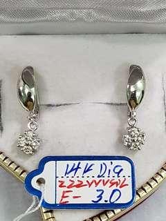 Diamond earring's