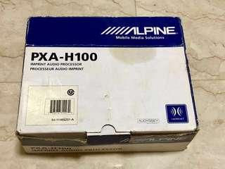 Alpine PXA-H100 Imprint Audio Processor with KTX-H100 Imprint Sound Manager