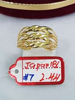 Japan Gold Ring's