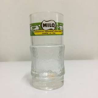 Milo 1984 Olympic Glass
