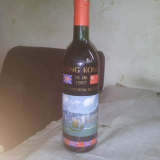 紅酒/香港1997年6月30日交接紀念版