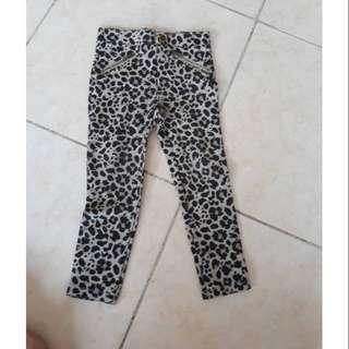 H&M jegging leopard