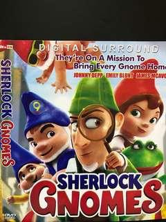 🚚 Dvd English movie, Sherlock Gnomes