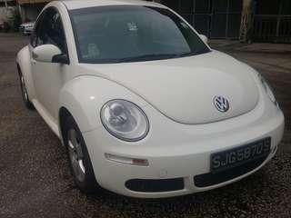 Volkswagen Beetles 1.6A 2008/09