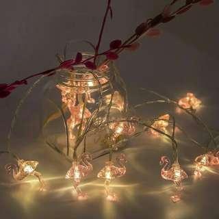 Flamingo led lights