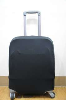LUGGAGE COVER (PLAIN BLACK)