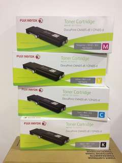 Fuji Xerox Genuine Printer Toner Cartridge, CM405df, CP405d, CT202033, CT202034, CT202035, CT202036