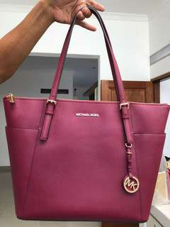 Michael Kors Leather Mulberry