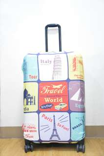 LUGGAGE COVER (Travel around the world)