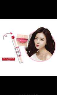 🚚 Canmake Stay-On Balm Rouge Lip Colour #11