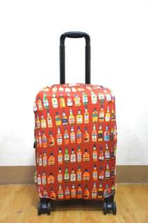 LUGGAGE COVER (WINE BOTTLES)