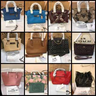 🔥HOT SALE! 💯% Authentic Coach Women Handbag Series @ FOR HER 👜 ALL READY STOCK