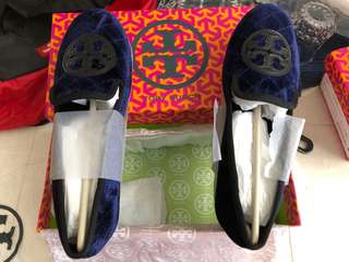 Tory Burch Bright Navy Size 8 US