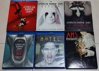 American Horror Story Season 1 to 6 Bluray TV Show