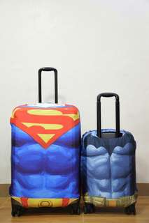 LUGGAGE COVER (Superman batman)