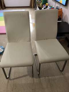 4 Pieces Dinning Chairs (2+2)
