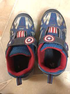 Boys captain america shoe