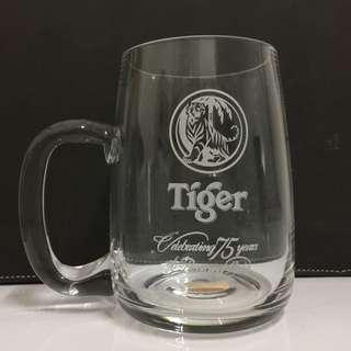 Tiger 75th Anniversary Glass Mug