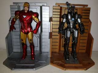 Marvel Select Movie Ironman and War Machine