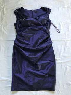 Sexy purple dress with tags on