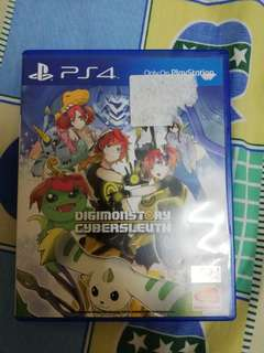 Sony Ps4 Digimon Story Cybersleuth