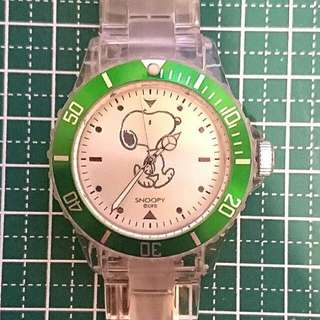 Snoopy Quartz Diver's Watch