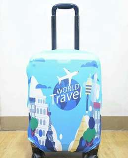 LUGGAGE COVER (WORLD TRAVEL)