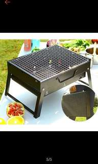 portable steel barbeque
