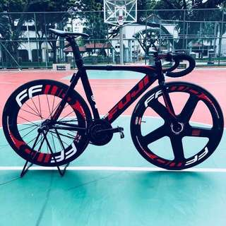 Fuji track pro frameset WTT/WTS