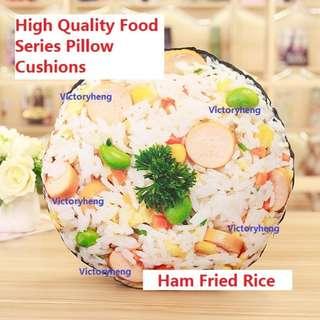 High Quality Food Series Pillow Cushions - Ham Fried Rice