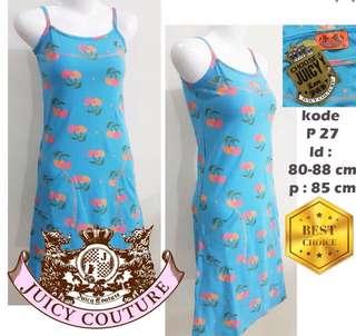 Juicy couture blue midi dress