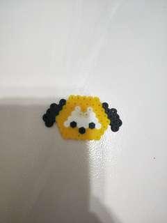 Tsum Tsum Pluto Perler Beads