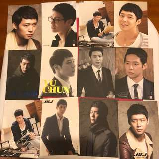 JYJ 朴有天 collection card
